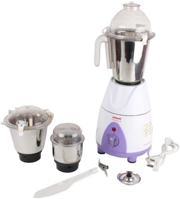 JAIPAN JPPR0039 750 Mixer Grinder(Multicolor, 3 Jars)  available at flipkart for Rs.3076