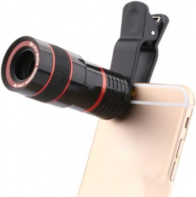 ShutterBugs Universal 8X Zoom Telescope Camera Mobile Phone Lens(Wide and Macro)