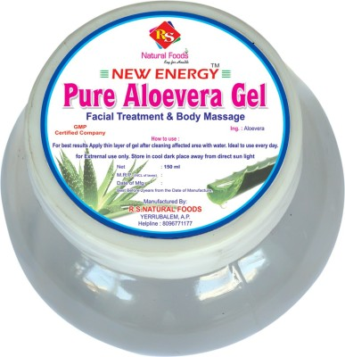 RS natural Foods Pure Aloevera Gel(150 ml)  available at flipkart for Rs.110
