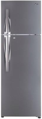 LG GL-T402JPZU 360L 3 Star Frost Free Double Door Inverter Refrigerator, Shiny Steel