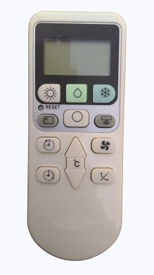 Axelleindia Compatible Replacement Remote For Hitachi AC(Please match the image with your old remote) Remote Controller(White)