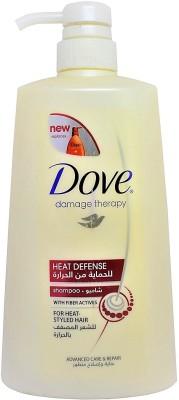 Dove Damage Therapy Heat Defense Shampoo (Made in in Saudi)(700 ml)