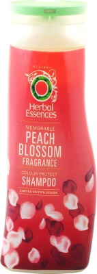 Herbal Essences Memorable Peach Blossom Colour Protect Shampoo (Made In UK) 400ml(400 ml)