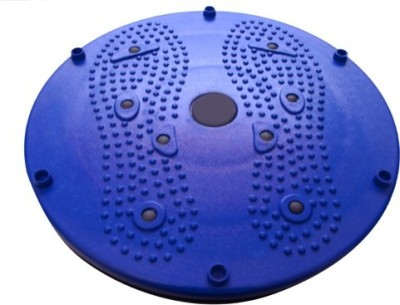 manogyam Tummy Trimmer Acupressure Twister (Pyramids n Magnets) Useful for Figure Tone-up, Spine Fitness, Abs Trimming Stepper(Blue)  available at flipkart for Rs.296