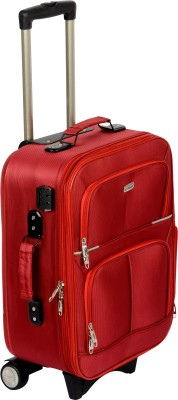TREKKER TTB MARSRED20 Expandable Cabin Luggage   20 inch Red