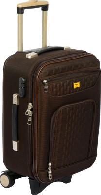 TREKKER UTB H CRETABR20 Expandable Cabin Luggage   20 inch Brown