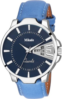 Mikado Men's Blue Day And Date Display Analog watch for Men's Watch  - For Men