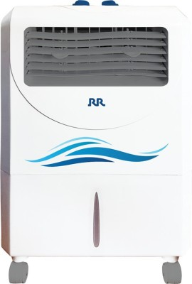 RR ACPV25L Room Air Cooler(White, Blue, 25 Litres)  available at flipkart for Rs.6500