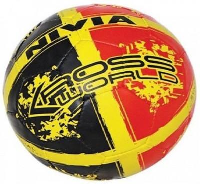 Nivia FOOTBALL 11 Football   Size: 5 Pack of 1, Red, Black Nivia Footballs