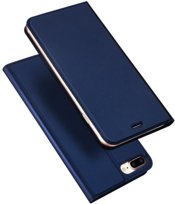 Vodex Flip Cover for Apple iPhone 7, Apple iPhone 8(Blue, Dual Protection)