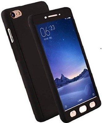 Cowboy Front & Back Case for OPPO Neo 7(Black, Plastic)