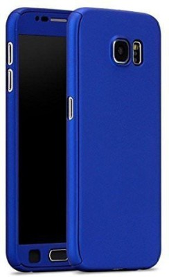 Loopee Front & Back Case for Samsung Galaxy On7 Prime(Blue, Plastic)