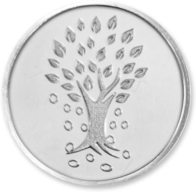 KUNDAN Kalpataru Tree Precious SIlver Bar S 999 5 g Silver Coin KUNDAN Coins   Bars