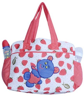 Guru Kripa Baby Products New Born Baby Multypurpose Mother Bag With Holder Diapper Changing Multi Comprtment For Baby Care And Maternity Handbag Messenger Bag Diaper Nappy Mama Shoulder Bag Diaper Bag For Baby Multipurpose Mother Bag Cotton Fabric (Red-2) New Born Baby Mother Bag/Diaper Bag(Red)  available at flipkart for Rs.498