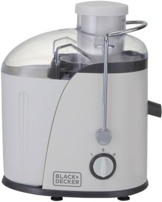 Black & Decker BXJE4001IN 400 W Juicer(White, 2 Jars)