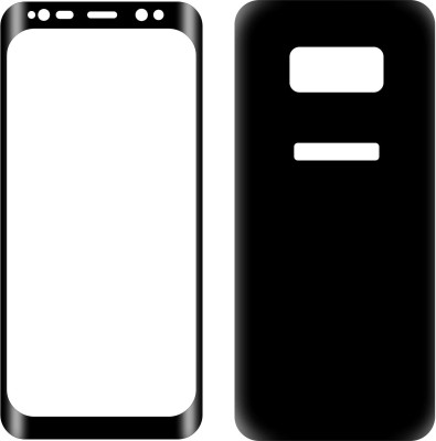 Case Creation Front and Back Screen Guard for Samsung Galaxy Note8 6.3 inch(Pack of 2)