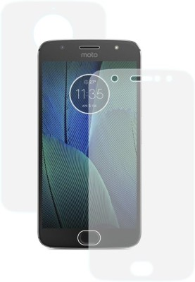 Case Creation Front and Back Screen Guard for Motorola Moto G5s Plus(Pack of 2)