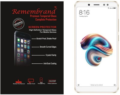 Remembrand Impossible Screen Guard for Mi Redmi Note 5 Pro(Pack of 1)