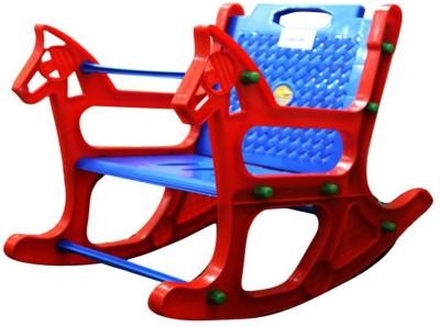 Abasr Plastic Rocking Chair(Finish Color - Multicolor)