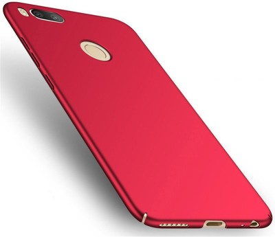 GadgetM Back Cover for Mi A1 Red, Hard Case