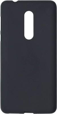 Aspir Back Cover for Mi Redmi Note 5(Black, Flexible Case)