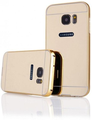Coverage Back Cover for Samsung Galaxy S6 Edge Gold