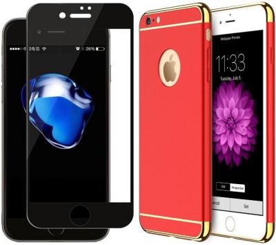 SHINESTAR. Front   Back Case for Apple iPhone 6, Apple iPhone 6s Red SHINESTAR. Plain Cases   Covers