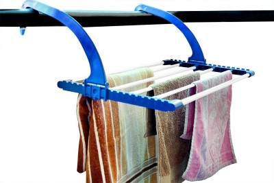 Continental clothes drying stand for balcony,corridor,backyard.door,bathroom - ( IT N - LYB02 ) ( Blue ) Plastic Wall Cloth Dryer Stand(Blue)  available at flipkart for Rs.575