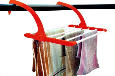Continental clothes drying stand for balcony,corridor,backyard.door,bathroom - ( IT N - LYB02 ) ( Red ) Ceramic Wall Cloth Dryer Stand(Red)  available at flipkart for Rs.575