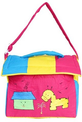 Guru Kripa Baby Products New Born Baby Multipurpose Mother Bag With Holder Dipper Changing Multi Comprtment For Baby Care And Maternity Handbag Messenger Bag Diaper Nappy Mama Shoulder Bag Diaper Bag For Baby Multipurpose Mother Bag Cotton Fabric (Dark Pink) New Born Baby Mother Bag/Diaper Bag(Dark   available at flipkart for Rs.535