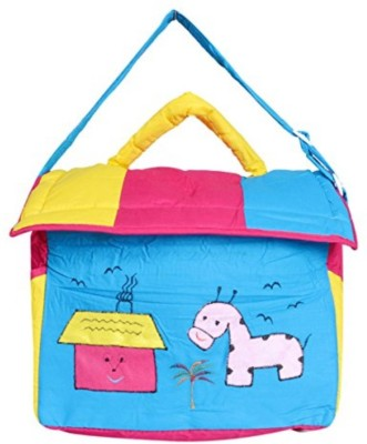 Guru Kripa Baby Products New Born Baby Multypurpose Mother Bag With Holder Diapper Changing Multi Comprtment For Baby Care And Maternity Handbag Messenger Bag Diaper Nappy Mama Shoulder Bag Diaper Bag For Baby Multipurpose Mother Bag Cotton Fabric (Blue-1) New Born Baby Mother Bag/Diaper Bag(Blue)  available at flipkart for Rs.535