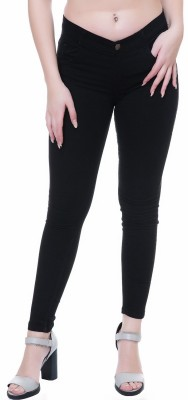 Broadstar Slim Women Black Jeans