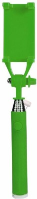 ShutterBugs Cable Selfie Stick(Green)