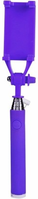 ShutterBugs Cable Selfie Stick(Purple)
