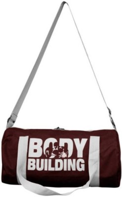 Smart Ware Sports Duffle Gym(Maroon, Kit Bag)  available at flipkart for Rs.248