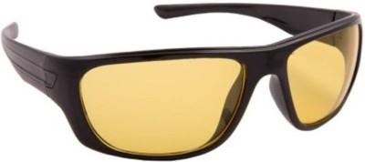 Joe Louis Wayfarer Sunglasses(Yellow) at flipkart
