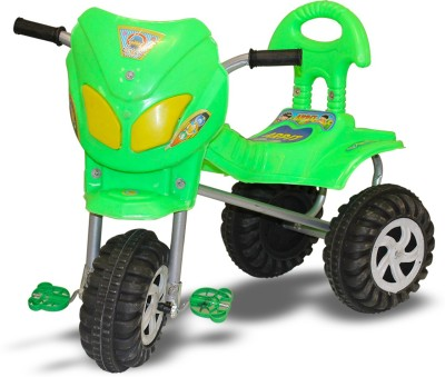 AKSHAT GREEN NEW ATTRACTIVE tricycle FOR KIDS tricycle(Green)  available at flipkart for Rs.499
