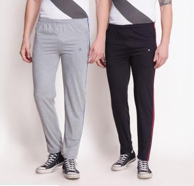 e403d9073a 30% OFF on Force Go Wear Solid Men's Black, Grey Track Pants on Flipkart |  PaisaWapas.com