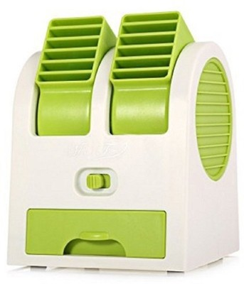 ZURU BUNCH Mini Air Cooler & Conditioner Cooling Fan Tower Fan(Green)