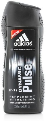 Adidas Dynamic Pulse Hair & Body 2-in-1 (250 ml)(250 ml)  available at flipkart for Rs.299