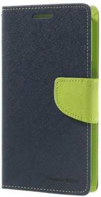 Close2deal Flip Cover for Micromax Canvas 5 Q450 Green(Green, Artificial Leather)