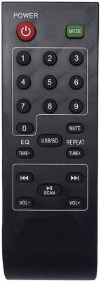 MEPL Compatible Intex Home Theater Remote (IT-1800 SUF) (Please Match The Image With Your Old Remote) (SP) Remote Controller(Black)