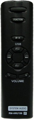 MEPL Audio System Remote RM-ANU156 Compatible-FM sony Remote Controller(Black)