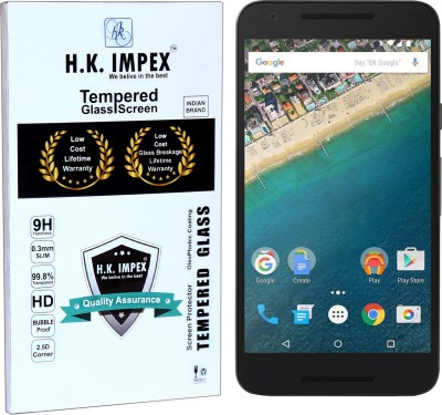 H.K.Impex Tempered Glass Guard for LG nexus 5x,:lg nexus 5x tempered glass in mobile screen guard(full body cover glass)