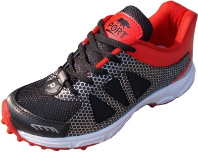 COMEX DRAGONWAR Cricket Shoes For Men(Red, Black)