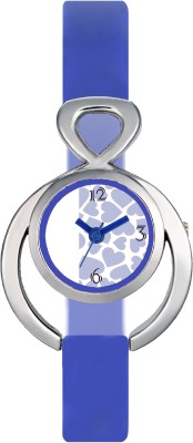 FASHION POOL VALENTIME LADIES MOST UNIQUE STAINLESS STEEL DIAL WITH FULL BLUE BELT A PERFECT WATCH FOR FESTIVAL COLLECTION WITH A STUNNING WATER MARK DIAL FOR CASUAL & PARTY WEAR Watch  - For Girls  available at flipkart for Rs.189