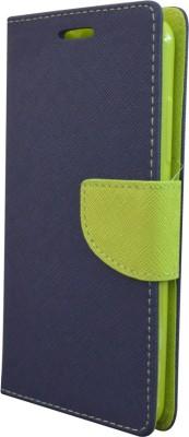 COVERNEW Flip Cover for Vivo X7(Blue)