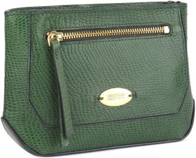 Hidesign Casual Green  Clutch