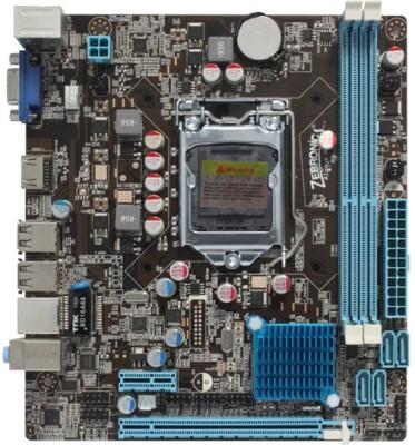 Zebronics ZEB-H61CM Combo Motherboard(Black)