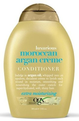 Organix Ogx Conditioner Moroccan Argan Creme 13 Ounce (384Ml) (3 Pack)(384 ml)